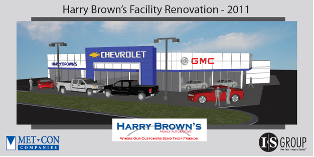 harry brown s family automotive met con companies